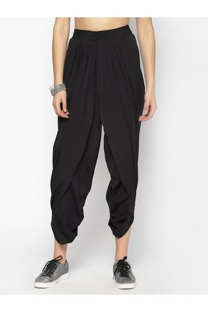 Sera Women Black Dhoti Pants