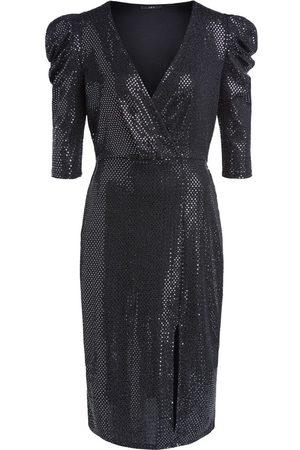SET Set Long Sleeve Sparkle Dress
