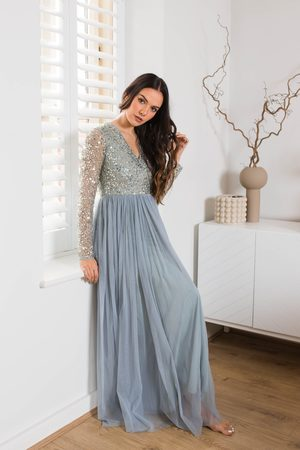 Frock and Frill Maeve Embellished Maxi Dress