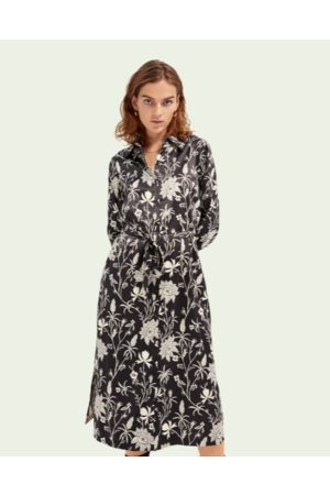 Scotch&Soda Women Casual Dresses - Floral Shirtdress