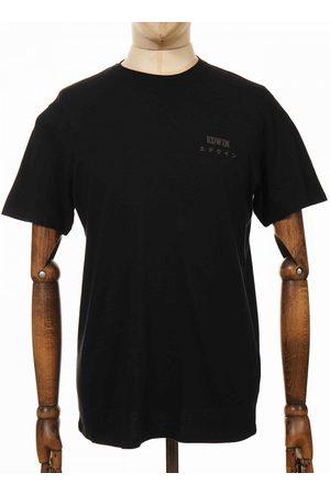 Edwin Men Jeans - Jeans Chest Logo Tee - Colour: