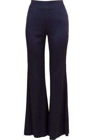 GALVAN Women Trousers - Satin High Waist Trouser
