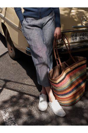 NRBY Chloe linen wide leg trouser
