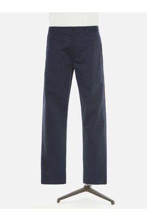 Universal Works Women Trousers - Aston Trousers in Navy Twill