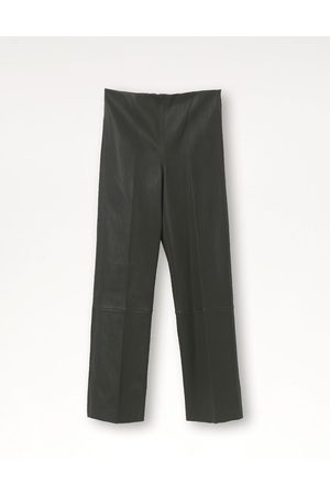By Malene Birger Women Leather Trousers - FLORENTINA LEATHER PANT TENT