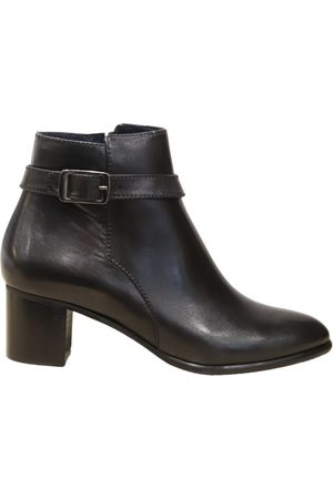 Aristocrat Women Ankle Boots - Leather Ankle Boot with Buckle