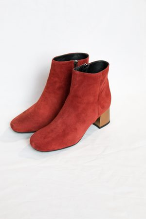 Portamento Molly Rust/Gold Ankle Boots