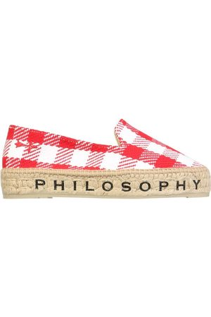 Philosophy Women Casual Shoes - WOMEN'S 600182011112 COTTON ESPADRILLES