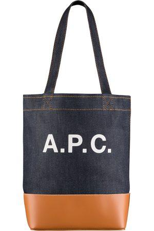A.P.C. Men Wallets - . Axel Tote - Caramel