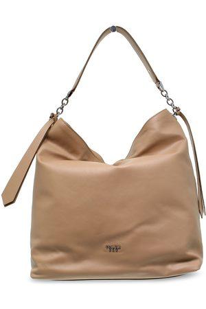 Tosca Blu Women Shoulder Bags - WOMEN'S TOSCAB241NOC BEIGE LEATHER SHOULDER BAG
