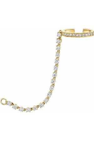 Anita Women Body Accessories - Single Row Diamond Ear Cuff Chain
