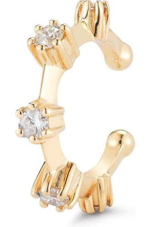 Jade Trau Women Body Accessories - Yellow Kismet Diamond Ear Cuff