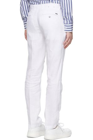 HUGO BOSS CRIGAN3 D Linen Chinos 50330691