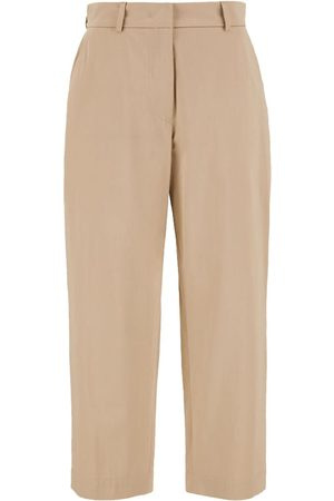 Max Mara Taso Sateen Trousers - Clay