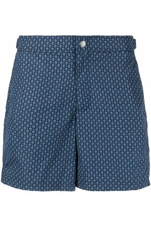 Alexander McQueen Men Swimming Trunks - MEN'S 5759374419Q4169 POLYESTER TRUNKS