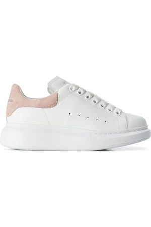 Alexander McQueen WOMEN'S 553770WHGP79182 LEATHER SNEAKERS