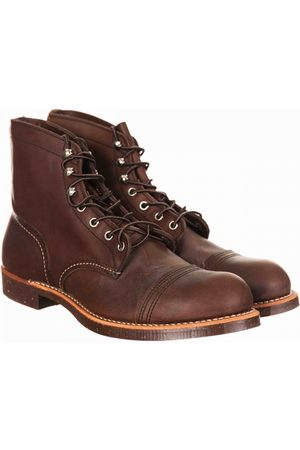 "Red Wing 8111 Heritage 6"" Iron Ranger Boot - Amber Harness"