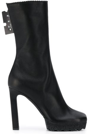 OFF-WHITE Women Ankle Boots - WOMEN'S OWID005F20LEA0011000 LEATHER ANKLE BOOTS