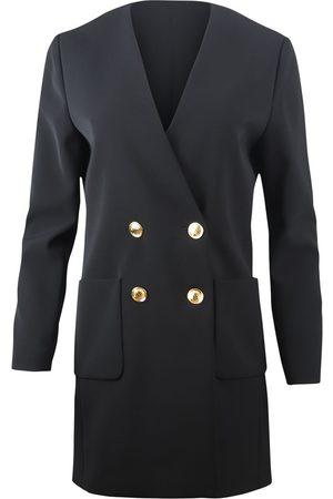 Moschino Women Blazers - Boutique Longline Double Breasted Blazer