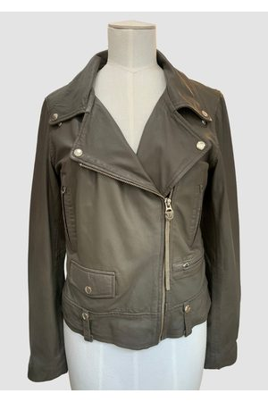 MDK / Munderingskompagniet Seattle Thin Leather Jacket Bungee Cord