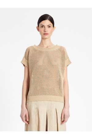 Max Mara Maxmara Studio Tenebre Loose Gage Top Colour: Colonial