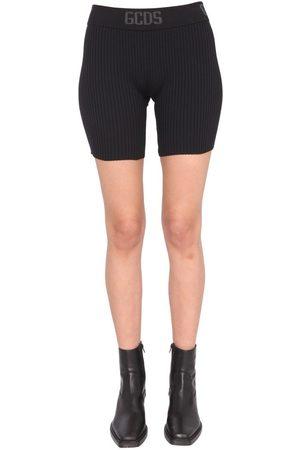 GCDS Women Shorts - WOMEN'S CC94W03050002 OTHER MATERIALS SHORTS