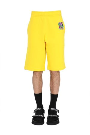 Moschino MEN'S A032520270027 OTHER MATERIALS SHORTS
