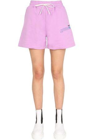 Msgm Women Shorts - WOMEN'S 3042MDB19021711970 OTHER MATERIALS SHORTS