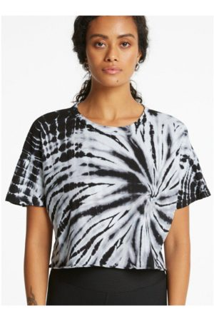 YEAR OF OURS Women Sports T-shirts - Tie Dye Cropped Tee