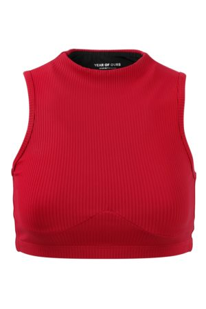 YEAR OF OURS Ribbed Mockneck Sports Bra