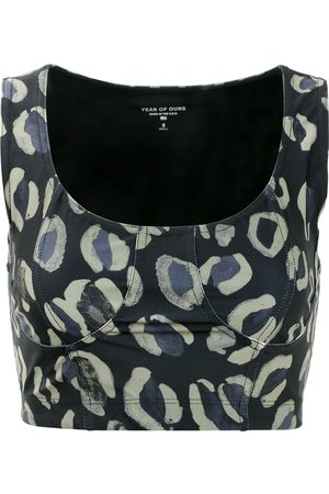 YEAR OF OURS Leopard Dolly Sports Bra