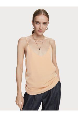 Scotch&Soda Women Vests - Scotch & Soda Cami - Soft Apricot