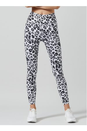 Lilybod Snow White Leopard Kendra Leggings