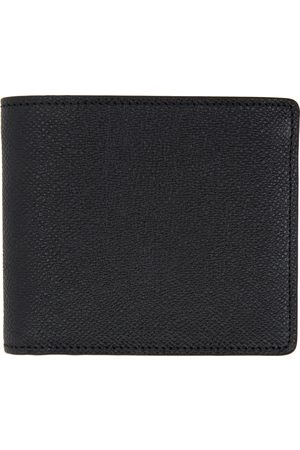 Men Wallets - Maison Margiela Grained Bifold Wallet