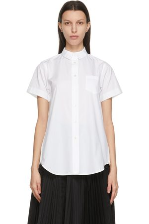Sacai Poplin Wide Short Sleeve Shirt