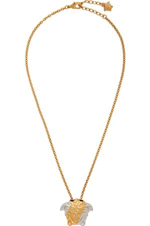 Versace Gold & Silver Palazzo Dia Necklace
