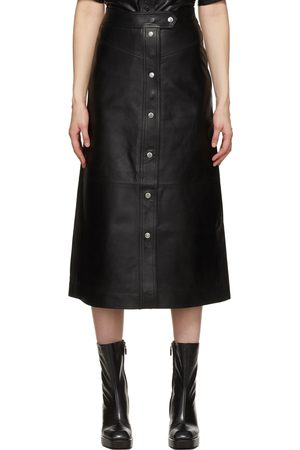 Women Leather Skirts - Stand Studio Leather Gianna Skirt