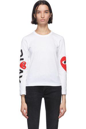 Women Long Sleeve - Comme des Garçons Play Big Heart Long Sleeve T-Shirt
