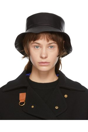 Women Hats - Loewe Leather Fisherman Hat