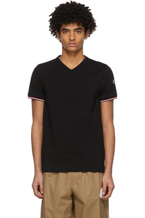 Men Short Sleeve - Moncler V-Neck T-Shirt