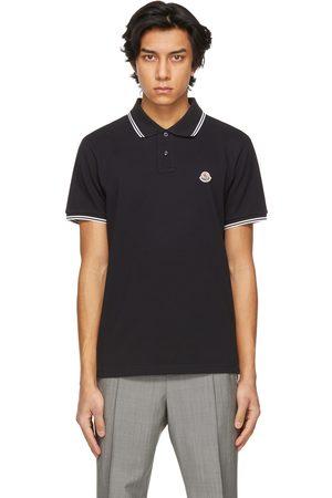 Men Polo Shirts - Moncler Navy Piqué Polo