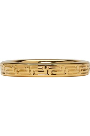 Versace Greek Key Ring