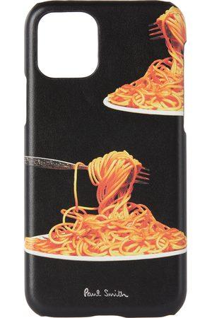Phone Cases - Paul Smith 50th Anniversary Black Spaghetti iPhone 11 Pro Case
