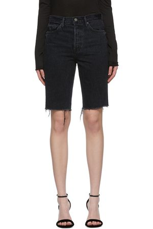 Grlfrnd Black Beverly Bermuda Shorts