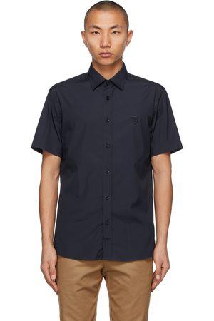 Burberry Navy Sherwood Short Sleeve Shirt