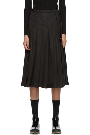 Women Pleated Skirts - Moncler Technical Pleated Skirt