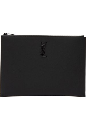 Men Laptop Bags - Saint Laurent Monogramme Tablet Holder Pouch