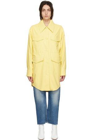 Women Leather Jackets - MM6 Maison Margiela Faux-Leather Jacket