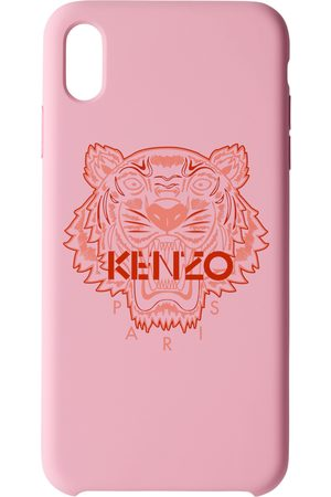 Phone Cases - Kenzo Pink & Red Tiger iPhone X+ Case