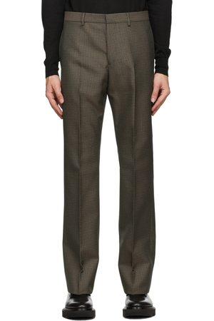 Men Slim Trousers - Givenchy & Green Skinny-Fit Trousers